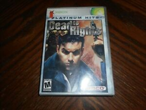 Dead To Rights (Microsoft XBox) Platinum Hits
