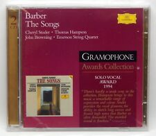 Barber: The Songs / Studer, Hampson, Browning ~ Sealed 2-CD Set (Sep-2003, DG)