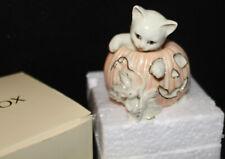 New - coa - Lenox - 2000 - mouse - Halloween Cat – figurine