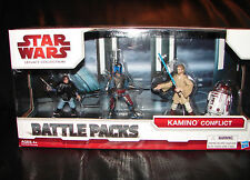 Star Wars Legacy Battle Pack  KAMINO CONFLICT  MIP 2009   AOTC E II        215