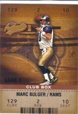 2003 FLEER AUTHENTIX CLUB BOX #ed 001/100 MARC BULGER #10  ST. LOUIS RAMS