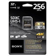 Genuine Sony 256GB High Speed SD SDXC Memory Card 95MB/s Class10 U3 (SF-G2UZ)