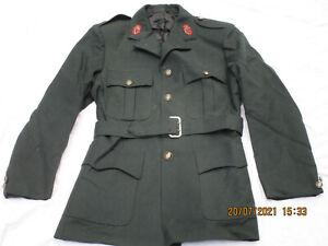 Royal Ulster Constabulary Jacket, Darkgreen, Ruc, Chest: 40,5 ,Waist 34,Harris