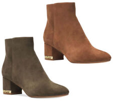 be031955bca9f New Michael Kors Women s Sabrina Suede Ankle Boots ...