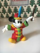 Christmas Disney Hallmark Keepsake Mickey Mouse Band Concert Ornament New In Box
