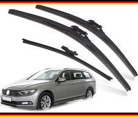 "VW Passat Estate 2015-2019 Heyner Germany Quality Wiper blades 26""18""ST13""G Set"