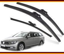 "VW Passat Estate 2015-2019 Heyner Germany Quality Wiper blades 26""18""ST13""G Set"