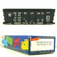 PENNSYLVANIA #14104 26' HIGH SIDE ORE CAR Roundhouse Model Die Casting 1703 HO