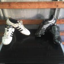 ADIDAS ADIPURE IV FG e Adidas TUNIT F30.6 SG sia UK 10 Scarpe da calcio
