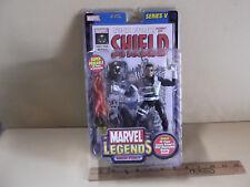 "Marvel Legends Series V Nick Fury 6""in Figure w/Comic ToyBiz 2003"