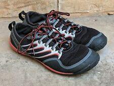 MERRELL Trail Glove Barefoot Outdoor Running Shoes Black Molten Lava Men's 10