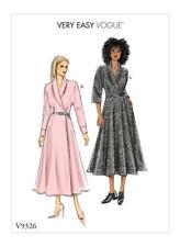 Vogue Schnittmuster very easy V9326  Kleid, sizes 6 - 14 (Gr. 32 - 40)