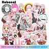 50 Piece Zero Two Best Waifu Sticker Pack DARLING In The FRANXX Anime Manga