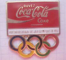 COCA-COLA / OLYMPISCHE SPIELE / RINGE / PARTNER 1992  ... Sport Pin (147a)