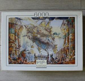 Nathan Puzzle 6000 Pièces Nautilus Rare Collection