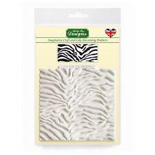 Katy sue Design Tappetino Fondente Torta Glassa Craft Abbellimento muffa-Zebra Print