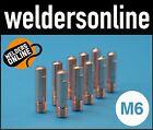 UNI-MIG M6 Welding Contact Tips (Multiple Qualities & Sizes) PCT0008 unimig