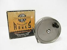 """VINTAGE COFFRET JW Young 3 1/4 """"condex Fly Fishing Reel"""