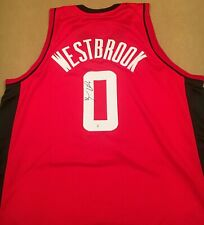 Russell Westbrook Houston Rockets Autographed Signed Jersey XL COA