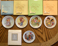 Avon MOTHER'S DAY PLATE LOT Exclusive Fine PORCELAIN 22k GOLD Collectible VTG
