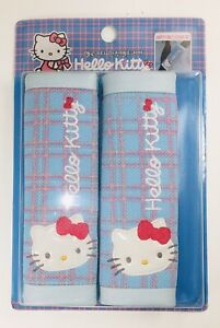 2 Pcs Official Sanrio Hello Kitty Car Seat Belt Shoulder Pads/Covers US Seller
