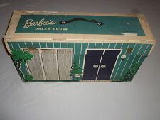 Vintage Boxed Barbie Dream House Cardboard Mattel Records 1962 Furniture 816