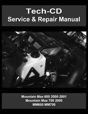 Yamaha Mountain Max 600 Service & Repair Manual MM600 2000 2001