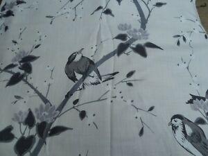 Chivasso 'Bird Garden' - linen Blend Fabric - 2m 20cm x 140cm