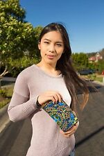 Limited edition of Genuine Embroidered Vintage Tribal BOHO wallet, clutch purse