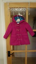 Girls winter coat Autograph Marks and Spencer12-18 months fuscia pink
