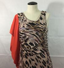 P15 Womens Yoana Baraschi Dress! Sz 6 Animal Print Ballroom Dance Salsa