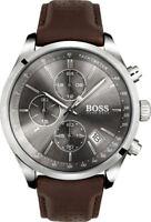 NEW HUGO BOSS HB 1513476 MENS GRAND PRIX WATCH - 2 YEARS WARRANTY