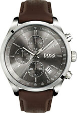 NEW HUGO BOSS HB 1513476 MENS GRAND PRIX WATCH - 2 YEAR WARRANTY