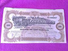 Société Mineur Metalurgica Des Guindos 1920