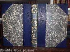 ✒ LAMARTINE Raphael 1887 - Maroquin 1/50 Japon + 2 suites - Rare en grand papier