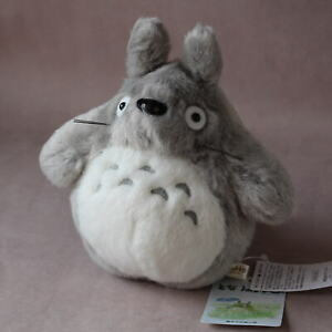 OFFICIAL Totoro Light Grey Soft Toy Plush - Studio Ghibli NEW