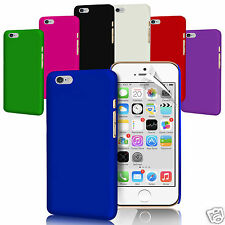 Pack Of 7 - Hard Back Skin Case Cover For Apple Iphone 6s (Sept 2015) - Colours