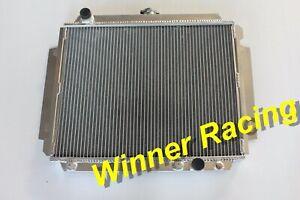 40MM Aluminum Radiator For Holden Jackaroo 2.2  Diesel Turbo A/T 1982-1992