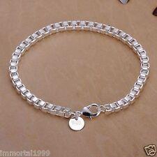 Bracelet Femme Plaqué Argent 925 maille Vénitienne