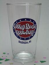 Oskar Blue Brewery Breyard North Carolina Pint Beer Glass Barware Collectible A3