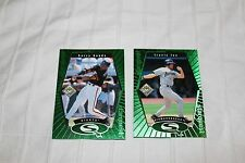 1999 UPPER DECK CHOICE BASEBALL STARQUEST GREEN RED 4 CARD LOT BONDS LEE CLEMENS