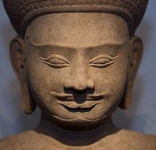 Khmer Deity, likely Vishnu, Angkor Period, 12th/13th Century