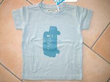 (41) Süßes Imps & Elfs unisex Baby T-Shirt mit Auto Druck & Logo Aufnäher gr.86