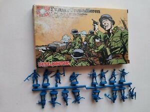 Boîte soldats anciens atlantic panzergrenadieren réf 51 ww2 figurines 1/72