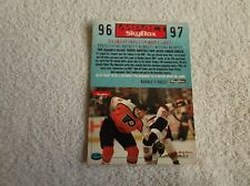 "Skybox / NHL ""JOHN LECLAIR"" #S1 1996 Impact Rookie Trading Card"