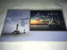 malaysia fdc 2013 light house australia ms overprint fdc first day cover