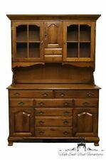 Solid Maple 55″ Buffet w/ Hutch