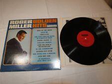 Roger Miller Golden Hits Mono MGS-27073 Smash records LP Album Record