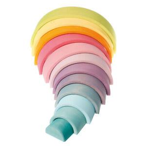 Grimm´s Regenbogen groß  pastell  Waldorf  12-teilig  10673