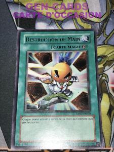 OCCASION Carte Yu Gi Oh DESTRUCTION DE MAIN DP07-FR018